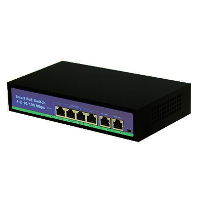 switch poe 4 canales